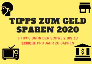 Spartipps Schweiz 2020
