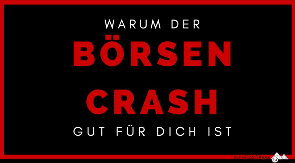 Börsen Crash Schweiz folgen Corna Crash Öl März 2020